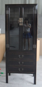 Chinese Furniture Glass Cabinet Lwa531 pictures & photos