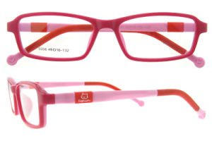 Silica Super Light Flexible Kids Prescription Eyeglasses Frame pictures & photos