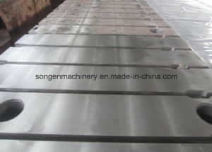 T-Slotted Cast Iron/Steel Boring Mill Bed Plates pictures & photos