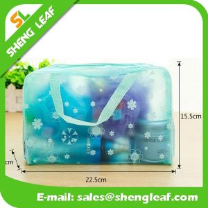 Promotion Plastic Zipper Clear PVC Cosmetic Bag pictures & photos