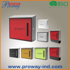 Wall Mounted Colorful Post Box pictures & photos