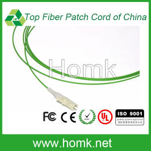 LC Multimode Fiber Optic Pigtail Green pictures & photos