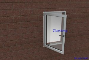 Thermal Break Aluminum Profile Aluminum Casement Window with Double Glazing pictures & photos