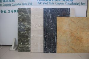 PVC Marble-Imitated Decoration Board Production Line pictures & photos