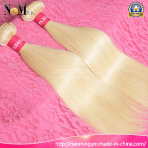 Soft and Smooth Blonde Virgin European Hair Honey Color #613 Russian Blonde Hair pictures & photos