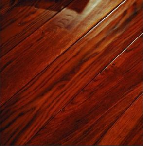 C&L Classic Antique Red Color Acacia Solid Wood Flooring pictures & photos