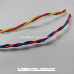 Pair Twisted Wire, PVC Electrical Cable for Building pictures & photos