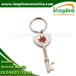 Fancy Keychain with Customized Logo, Zinc Alloy Souvenir Keychain pictures & photos