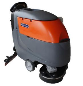 Big Area Used Automatic Floor Scrubber with Two Brush pictures & photos