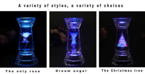 The Crystal Inside Carving Candle Holders pictures & photos