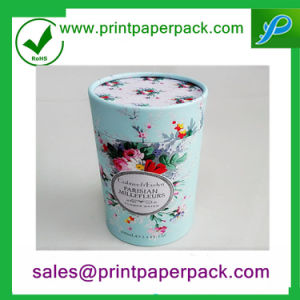 Customised Cylinder Paper Cosmetic Box with Logo Printing pictures & photos