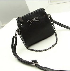 Fashion Design Leisure PU Leather Shoulder Bag for Women pictures & photos