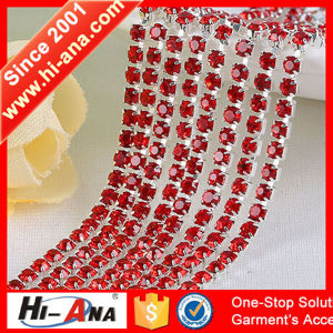 Many Self-Owned Brands Good Price Rhinestone Applique Trim pictures & photos