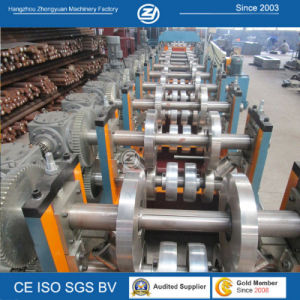 Gear Box Driving Automatic C/Z Purlin Roll Forming Machine pictures & photos