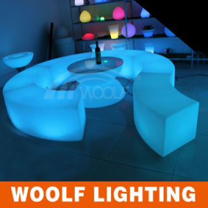 Quality-Assured Decoration Rechargeable LED Luminous LED Chair pictures & photos