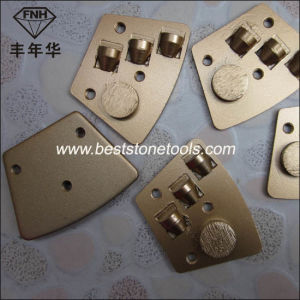 PCD-1 Trapezoid PCD Scraper Grinding Disc for Concrete Grinding pictures & photos