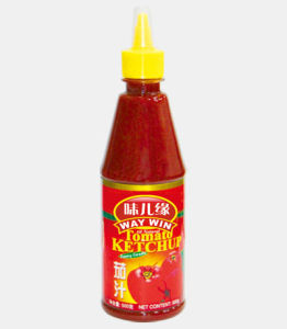 340g Tomato Ketchup in Bottle pictures & photos