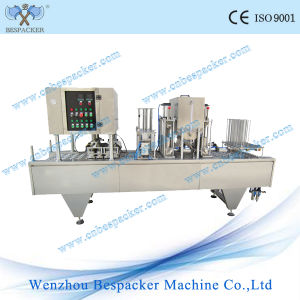 Pudding Cup Sealing Machine for Water pictures & photos