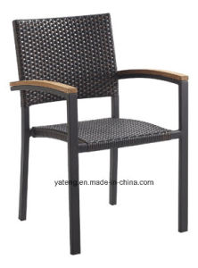 Modern Design Outdoor Garden Furniture Teak Table with Stackable Chairs Dining Set (YT505) by 6-10person pictures & photos