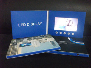 LCD Video Brochure pictures & photos