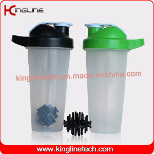 Eco friendly 700ml plastic custom protein bottle plastic ball wholesalers (kl-7033B) pictures & photos