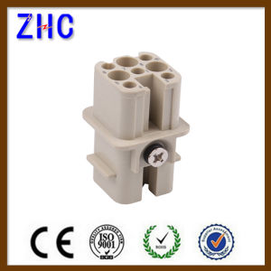 HD 7 Pin 8 Pin Industrial Harting Male and Female Heavy Duty Connector pictures & photos