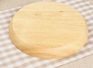 2016 Hot Sale Wooden Tray Dish Bamboo Round Platter Fruit Plate pictures & photos