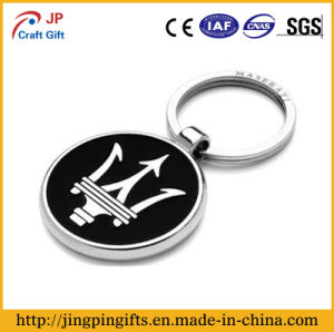High Polishing Custom Metal Key Ring with Chain pictures & photos