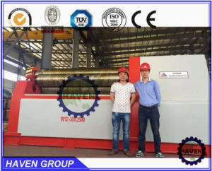 W12S-12X3200 4 Roller Steel Plate Rolling and Bending Machine pictures & photos