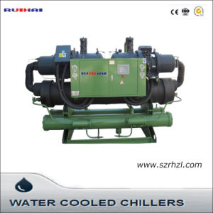 216kw Industrial Water Cooled Screw Water Chiller for Industry pictures & photos