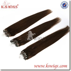 High Quality Remy Micro Loop Indian Hair Extensions pictures & photos