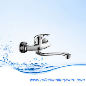 Sanitary Wares Lavatory Single Lever Kitchen Mixer Faucet (R5501202C-25SY) pictures & photos