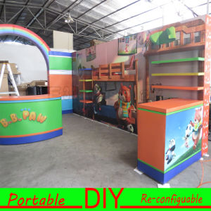 DIY Customized Portable Reusable Exhibition Booth with Design pictures & photos