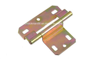 Competitive Polished Brass Plated Duty Hinge (SH-016) pictures & photos