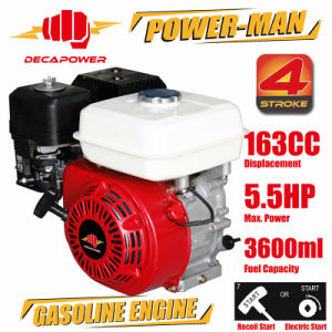 Ge160 5.5HP 163cc 4-Stroke Air-Cooled Ohv Recoil Start Petrol Gasoline Engine