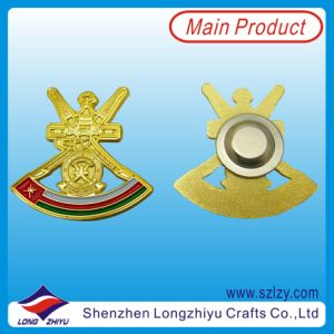 2014 Custom Design Cheap Powerful Magnet Badge pictures & photos