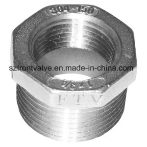 Investment Casting Stainless Steel Screwed Hexagon Bushing pictures & photos