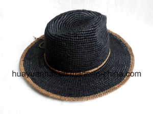 100% Raffia Straw with Leisure Style Safari Hats pictures & photos