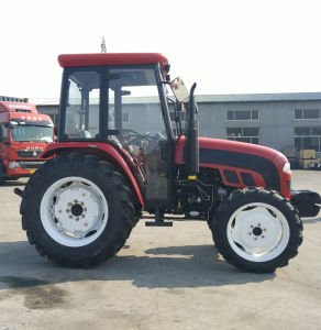 Foton 75HP 754 Farm Tractor with Cabin/Cab CE/Coc Approved pictures & photos