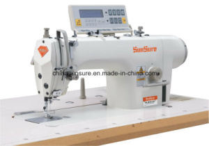 Ss9910j-D3 High Speed Direct Drive Computerized Lockstitch Sewing Machine pictures & photos