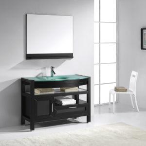 Hotel Design Modern Wooden Bathroom Vanity