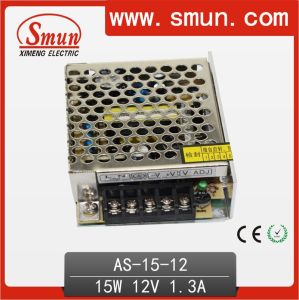 15W 12VDC 1.3A Small Size Single Output Switching Power Supply pictures & photos