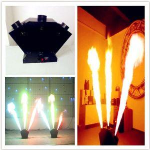 3 Heads DMX Spray Fire Machine pictures & photos
