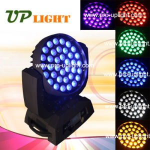 Moving Head 36*18 RGBWA+UV 6in1 Zoom Wash LED Stage Lighting pictures & photos