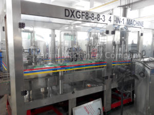 Full Automatic Gas Soft Drinks Production Filling Machinery pictures & photos