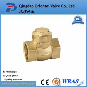 "3"" Inch Durable Professional Low Price Brass Spring Check Valve Brass Non pictures & photos"