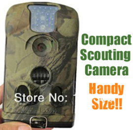 1080P Video Audio GSM MMS Hunting Trail Camera 940nm Blue Invisible IR LED (LTL-6210MG)