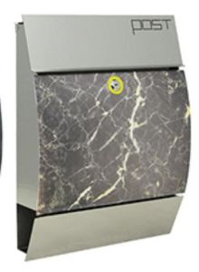 Solar Stainless Steel Mailbox (NLK-MB-006) pictures & photos