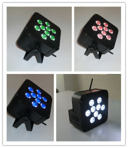 Cheap 9X15W Rgabw Battery Wireless LED Effect Lights