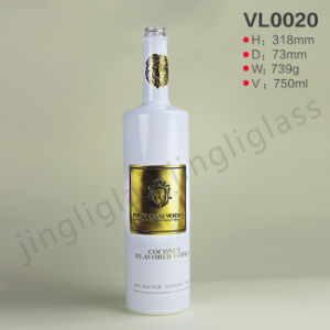 White Color 750 Vodka Bottle / Tequila Bottle pictures & photos